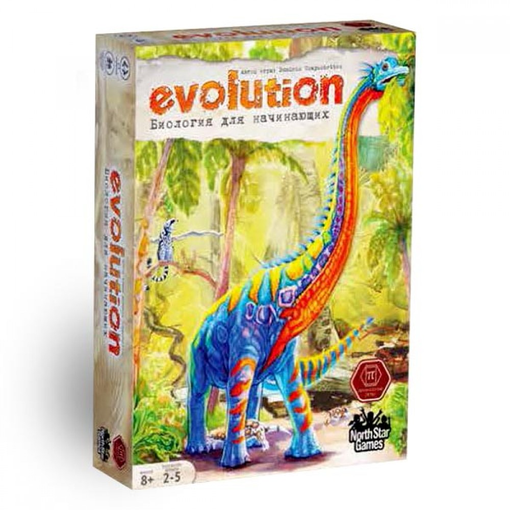 Board game Evolution Biology for beginners