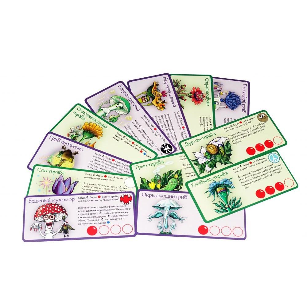 Доп. набор ПРАВИЛЬНЫЕ ИГРЫ Эволюция. Трава и грибы 13-01-07
