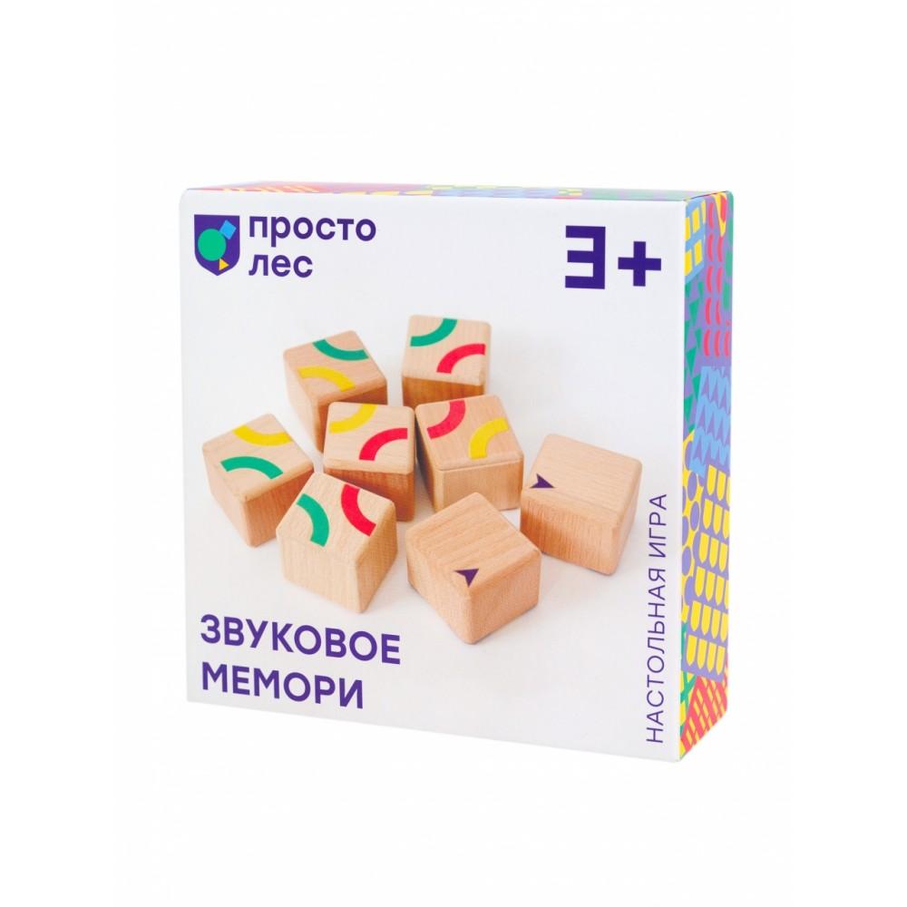 Кубики ПРОСТЫЕ ПРАВИЛА Звуковое мемори BD-1005