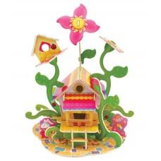 3d пазл Цветочный дом 43 дет