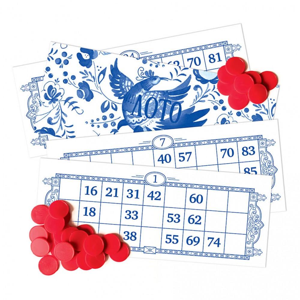 Board game SQUIRL Russian Lotto
