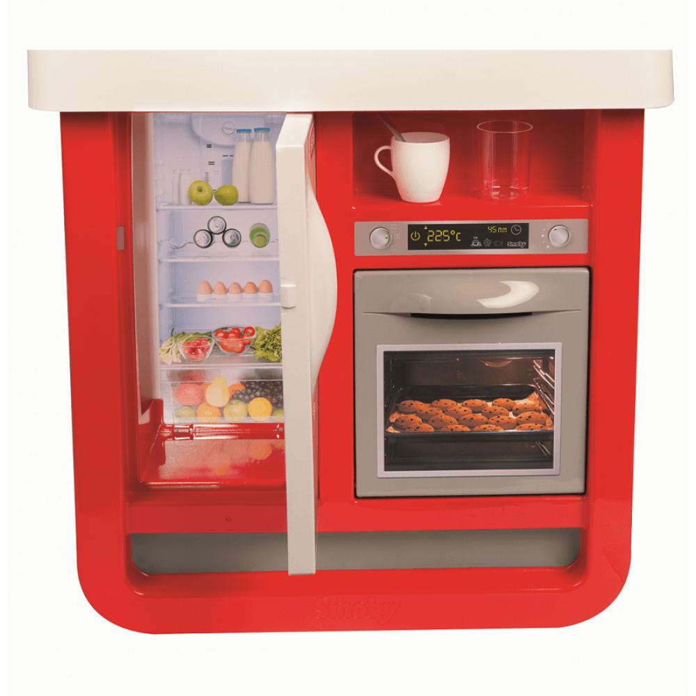 Game set SMOBY kitchen Bon Appetit red