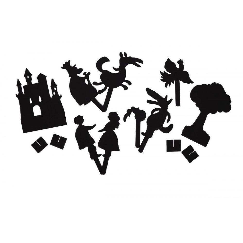 Игровой набор ТЕАТР ТЕНЕЙ ИСТОРИИ ГАРРИ Иван Царевич и серый волк SK-050320