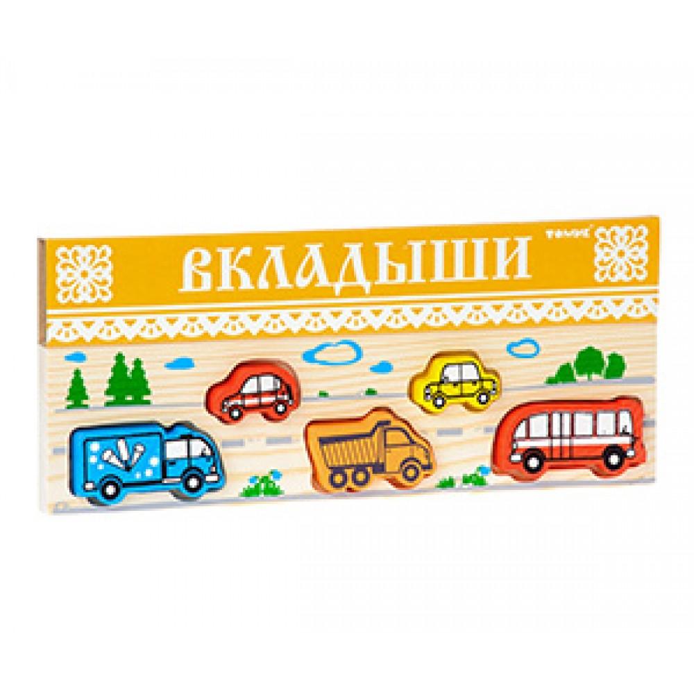 Рамка-вкладыш ТОМИК Транспорт 362