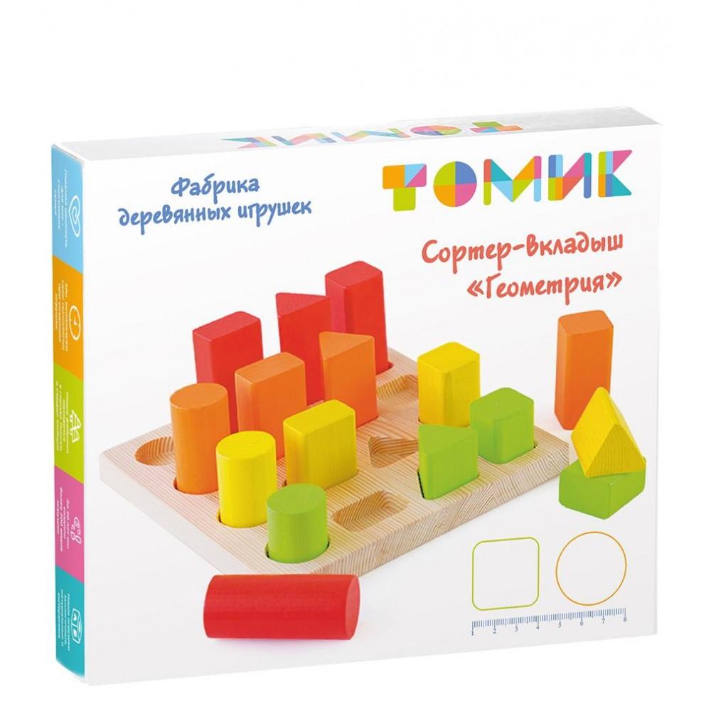 Сортер ТОМИК Геометрия 1-94