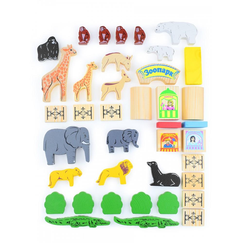 Игровой набор ТОМИК Зоопарк 7678-5