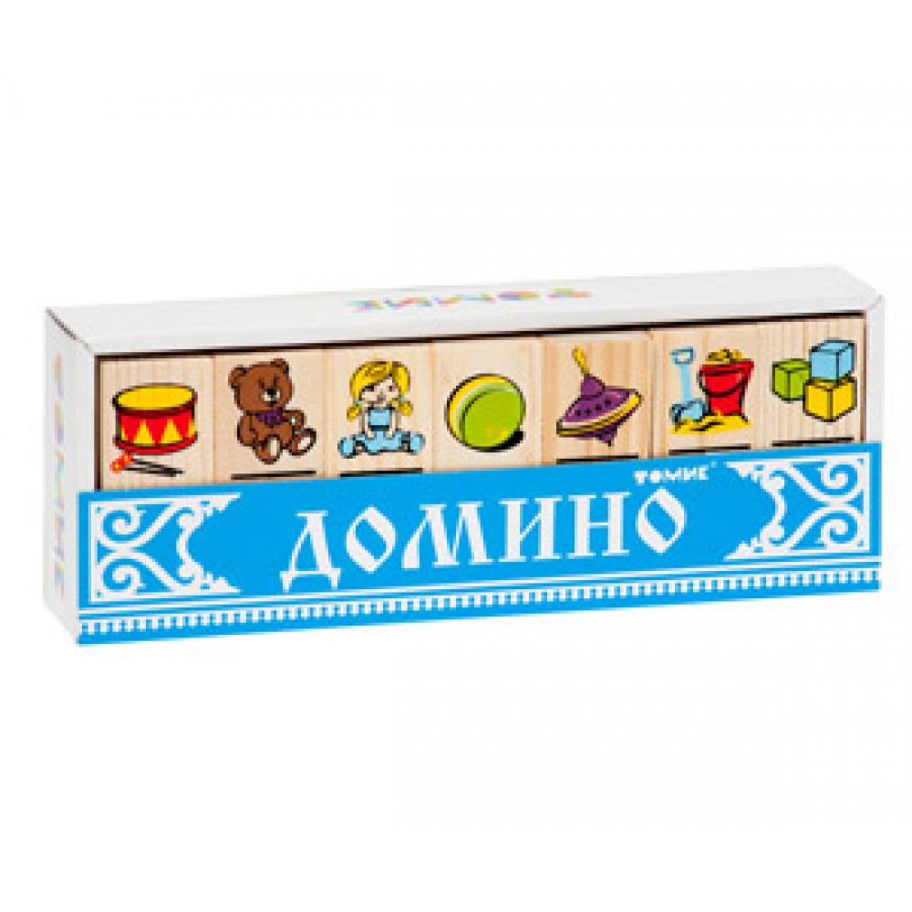 Домино ТОМИК Игрушки 5555-3