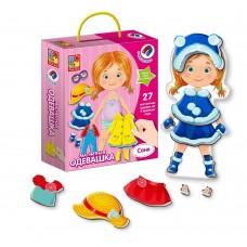 "Magnetic dress up game ""Sonya"" Art. VT3702-03"