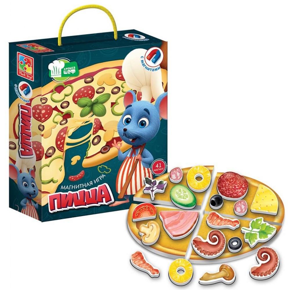 Magnetic game VLADI TOYS Pizza Art. VT3004-08
