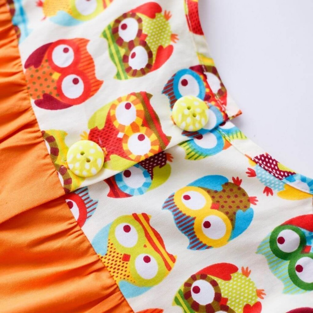 Dress Owls with buttons