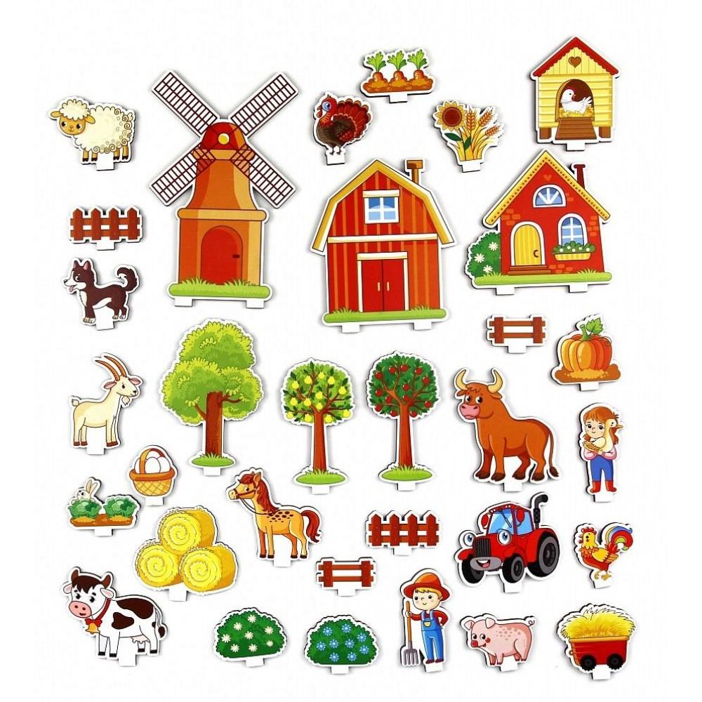 Обучающая игра Панорама Ферма