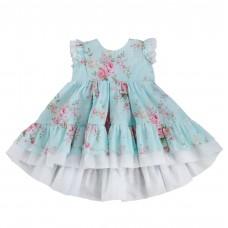 Dress Polly, garden roses