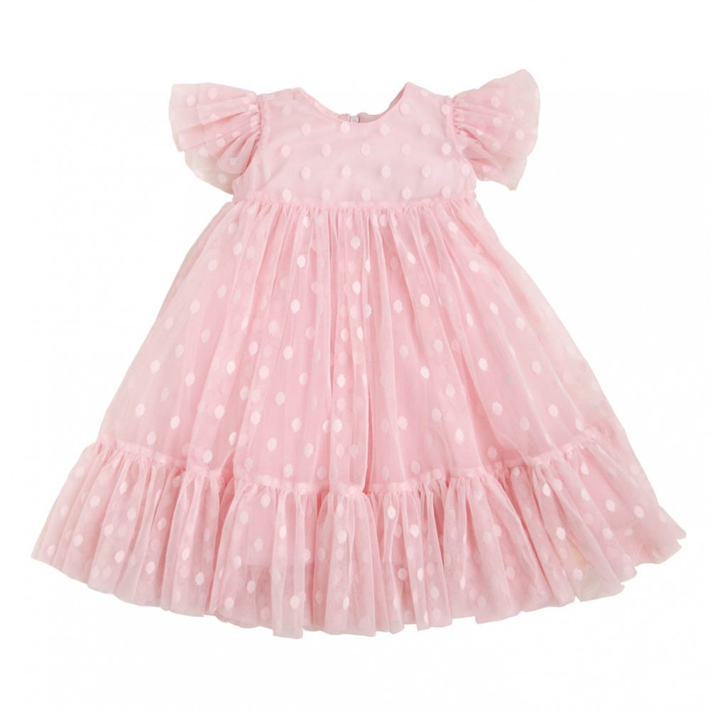 Dress Polly pink-peach