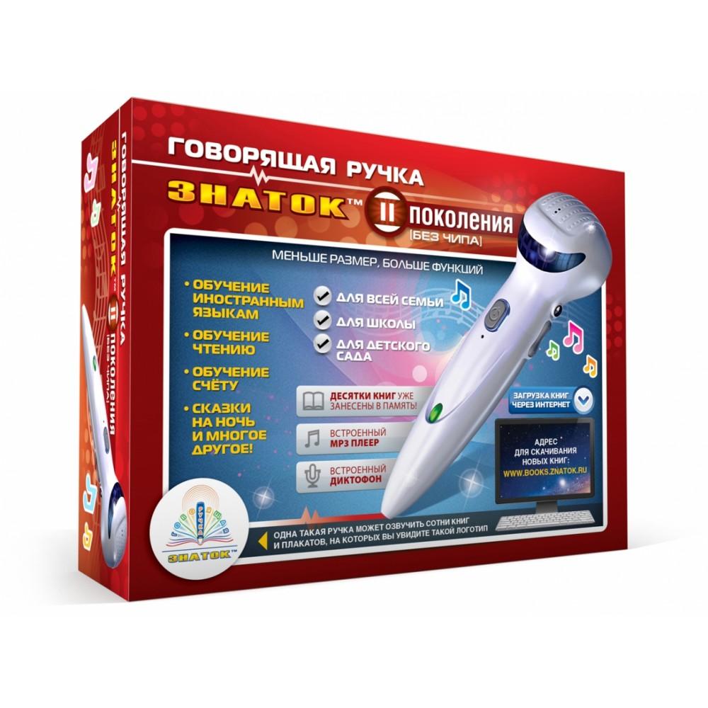 Набор ЗНАТОК Ручка электронная говорящая 4Гб