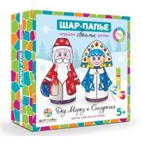 Набор для творчества ШАР-ПАПЬЕ Дед Мороз и Снегурочка